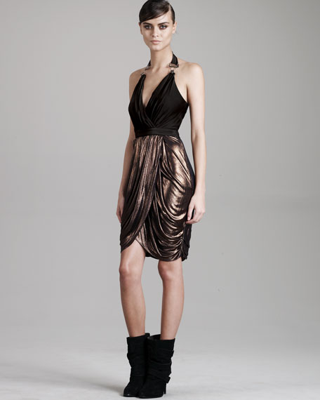 Heddles Halter Dress