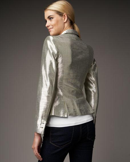 Elyse Metallic Blazer