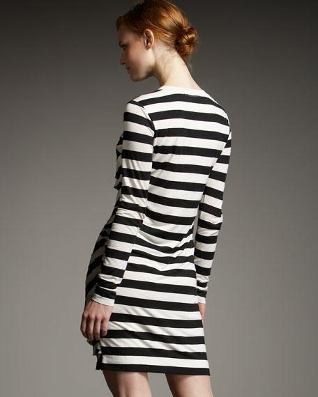 Bandor Striped Minidress