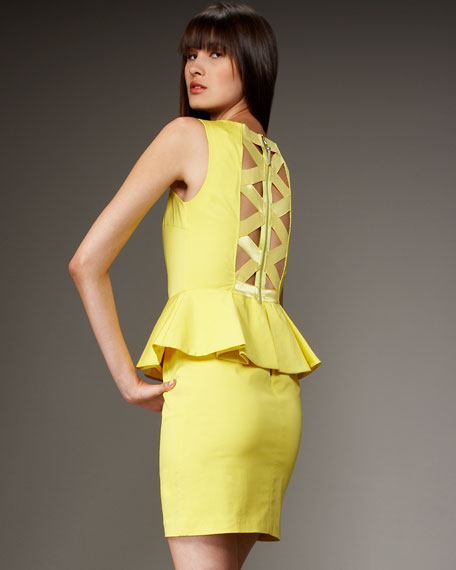 Josephine Peplum Dress