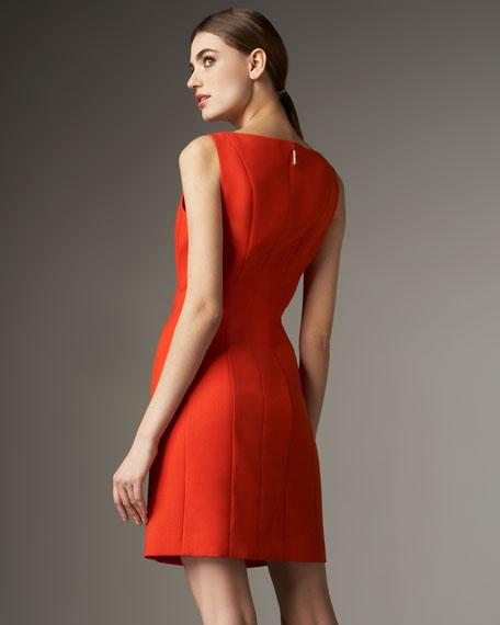 Vivian Ponte Shift Dress