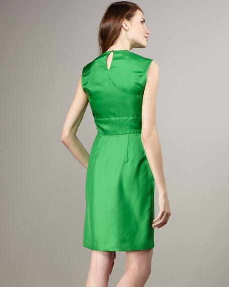 Agata Sleeveless Ruffle Dress