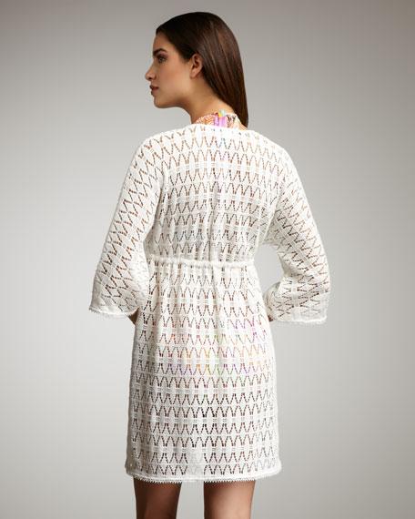 Ava Diamond-Crocheted Tunic