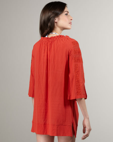 Tesha Embroidered Tunic