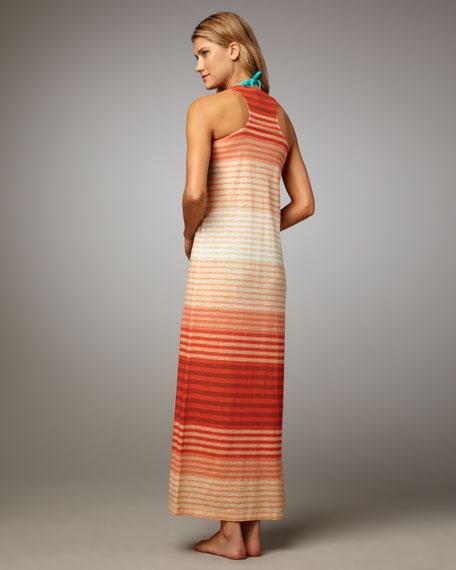 Belina Striped Maxi Coverup