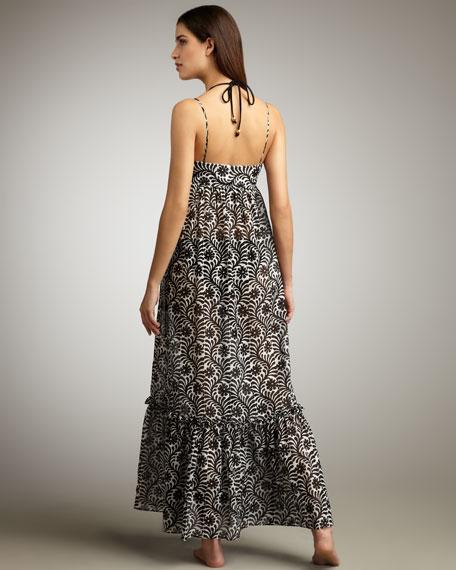 Eden Batik Coverup Maxi Dress