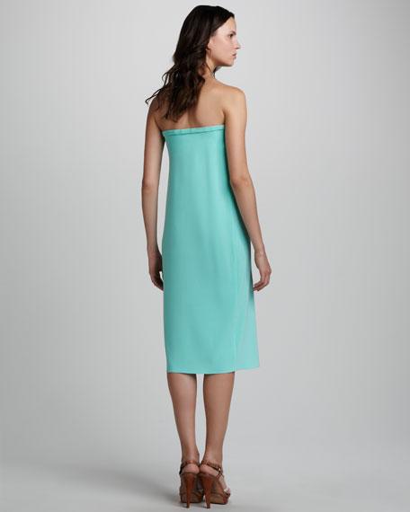 Strapless Matte Jersey Dress