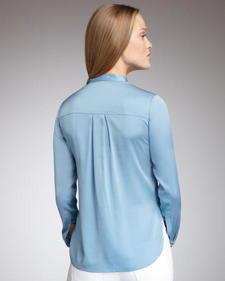 Silk Blouse, Blue Sky