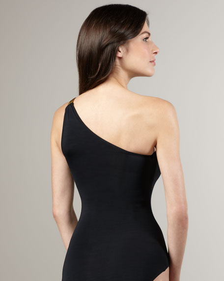 Key West One-Shoulder Maillot