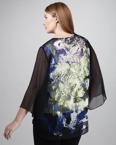 Maxie Printed Blouse, Women's