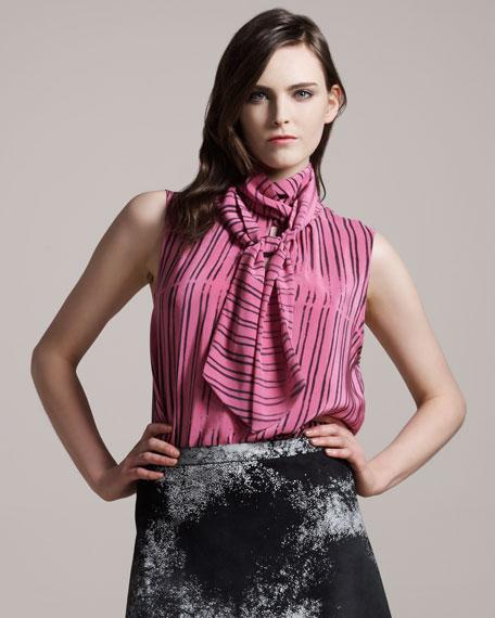 Chanteuse Striped Blouse