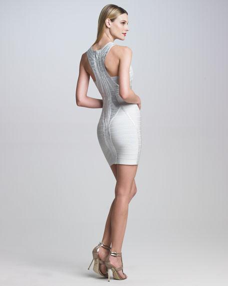 Shimmery Bandage Dress
