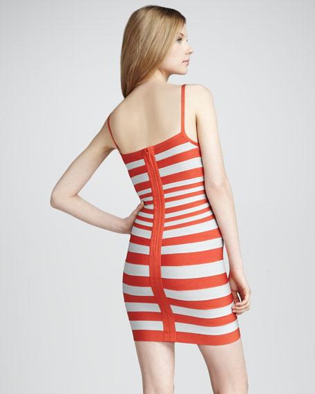 Striped Bandage Dress