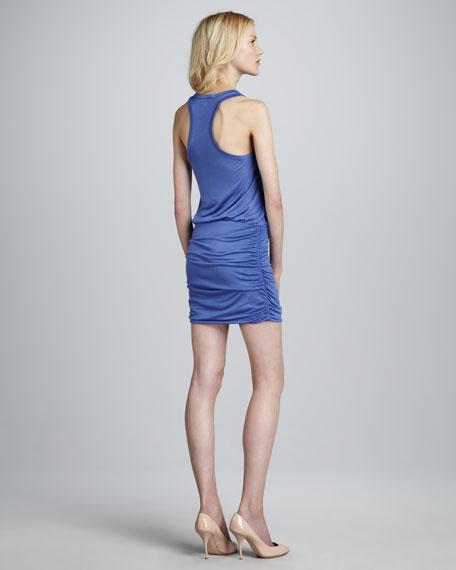 Bond Ruched-Skirt Dress