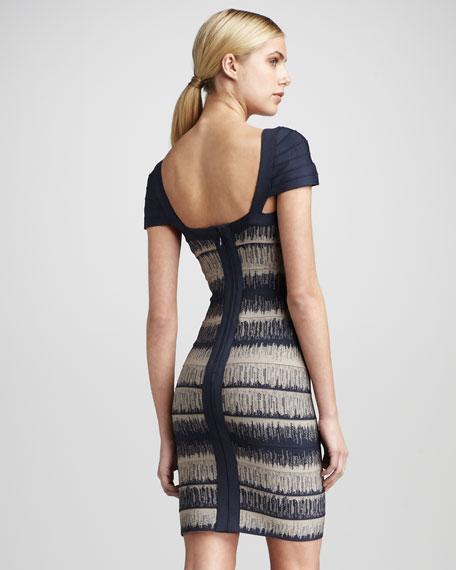 Printed Bandage Dress