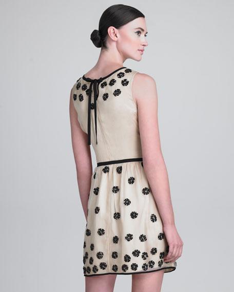 Sequined Leopard Spot Dress