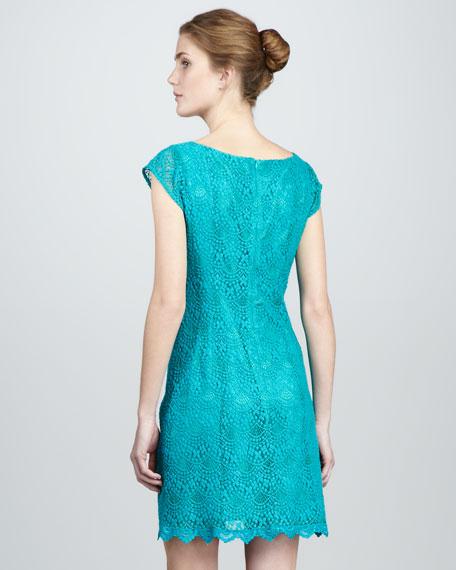 Seaside Sneakout Lace Dress