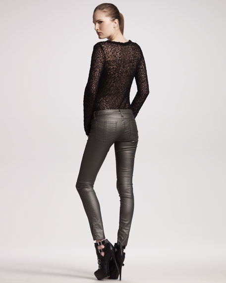 The Legging Jeans, Pewter