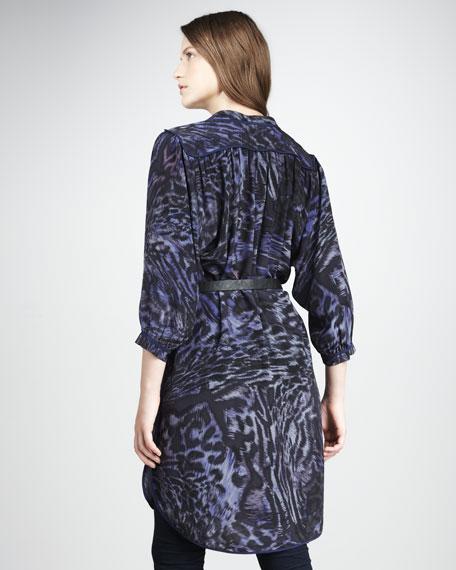 Printed Silk Tunic