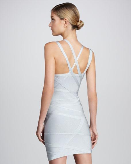 Asymmetric Bandage Dress