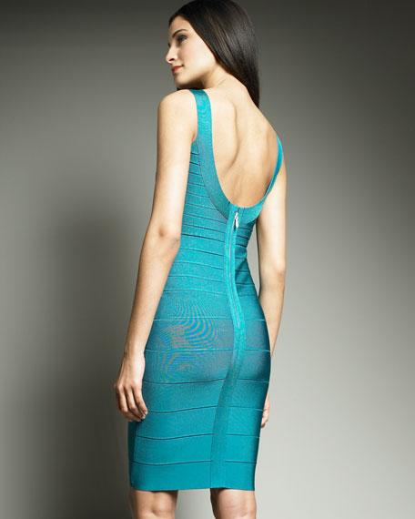 Essential Scoop-Neck Bandage Dress