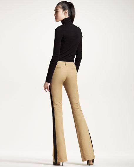 Boot-Leg Tuxedo Pants