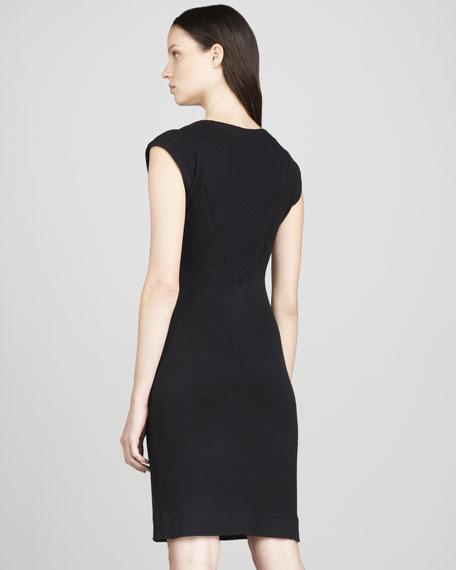 Rosasite Front-Zip Dress