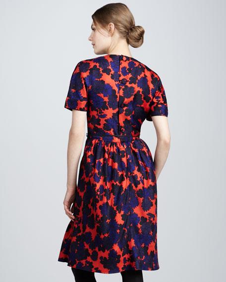 Onyx Floral Dress