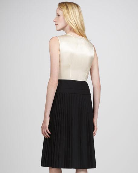 Tara Tonic Two-Tone Combo Dress