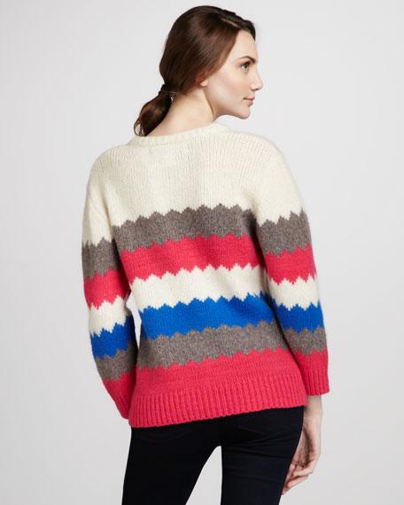 Nikolai Patterned Sweater