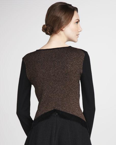 Clarice Burnout Sweater