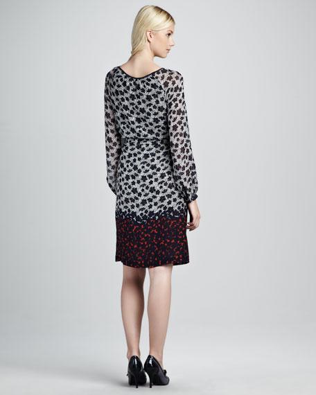 Lisa Printed Dress