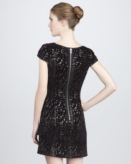 Edie Metallic Dress