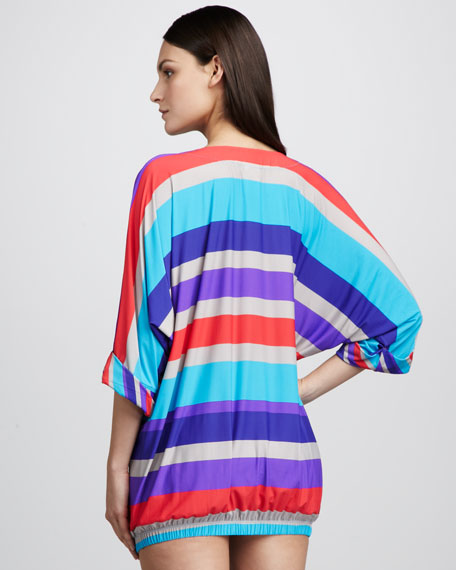 Merida Striped Coverup