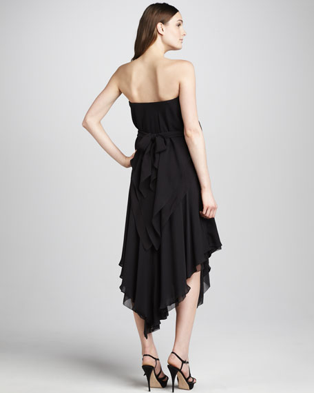 Ruffled Tie-Waist Dress