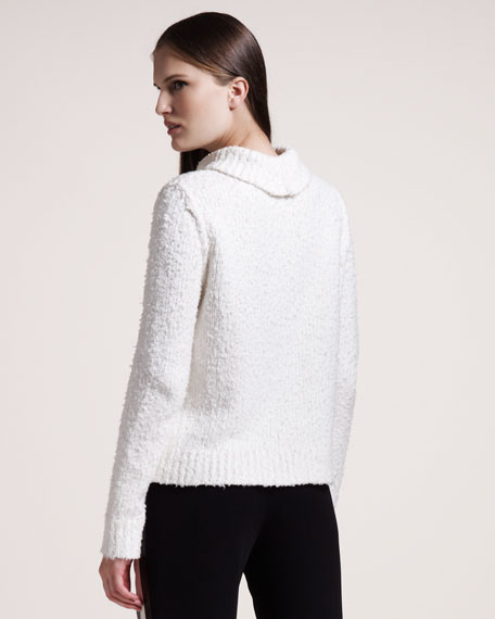 Christina Textured Turtleneck