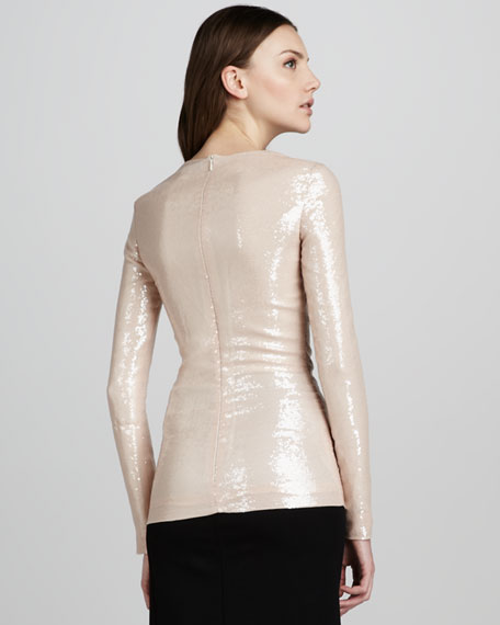 Menaro Sequined Top