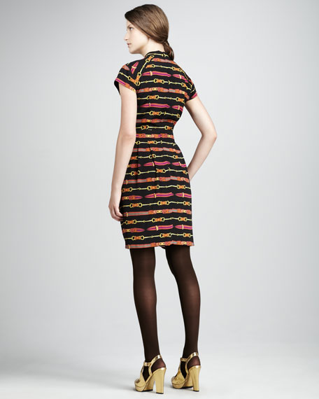 Dressage Printed Dress