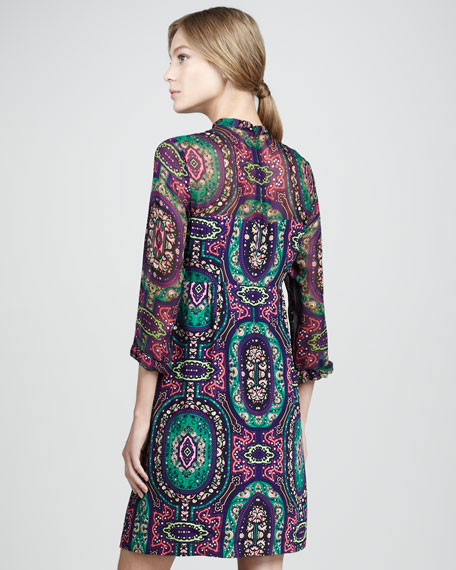 Hot To Trot Paisley Dress