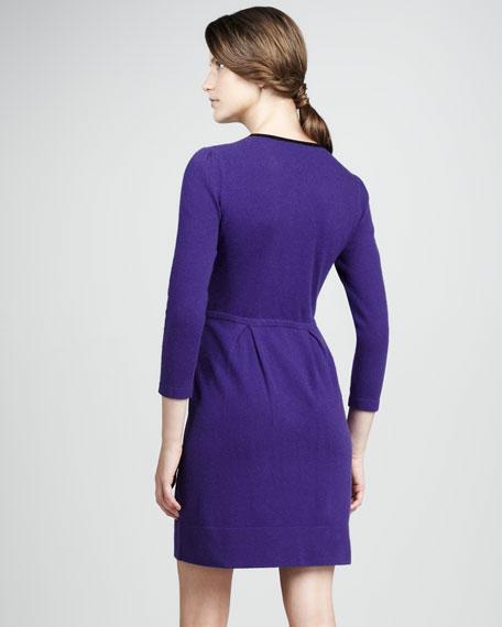 Equestrian Studded Knit Dress