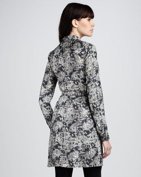 Snake-Lace Dress