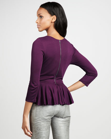 Betty Peplum Top
