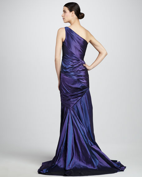 Taffeta Mermaid Gown