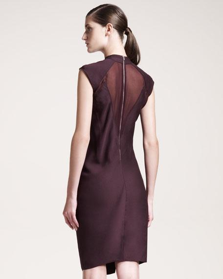 Molten Draped Dress