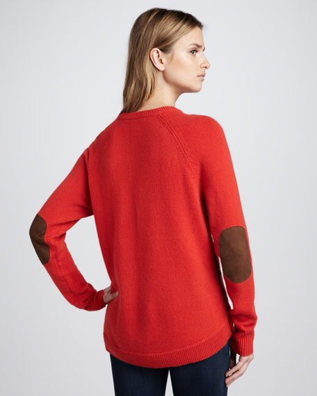Elbow-Patch Sweater
