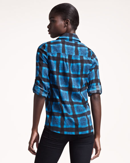 Jackie Plaid Shirt