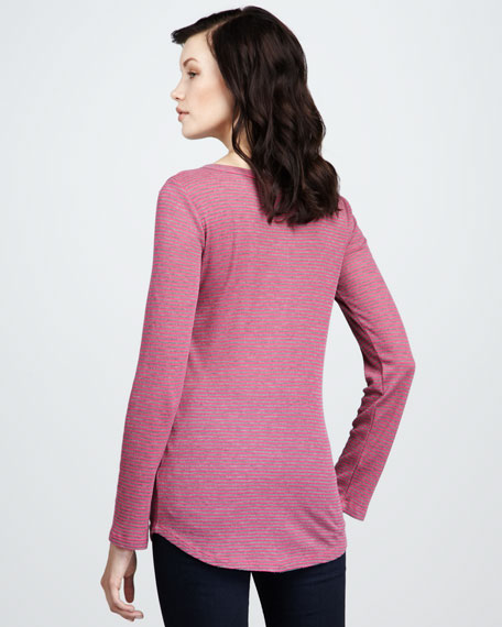 Thermal Striped Henley