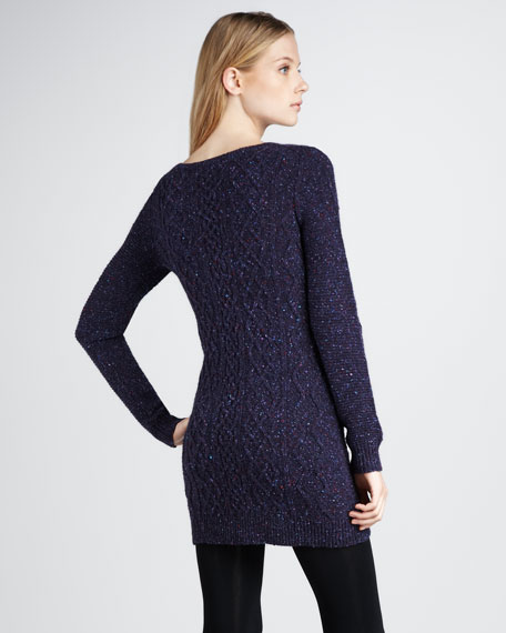 Speckled Sweaterdress