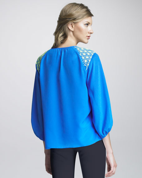 Serendipity Embroidered Blouse