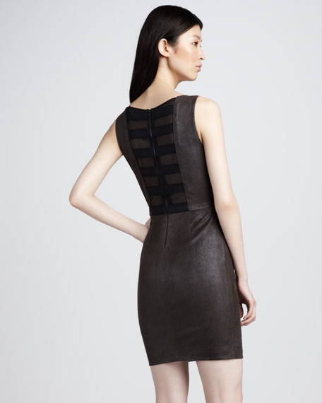 Teire Leather Dress